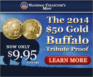 2014 $50 Gold Buffalo Coin