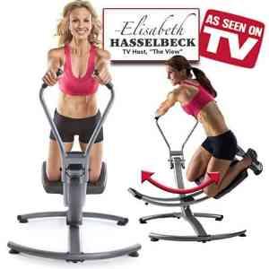 Ab Glider & Elisabeth Hasselbeck