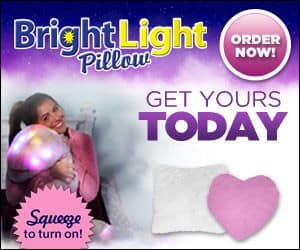 Bright Light Pillow Lights Up