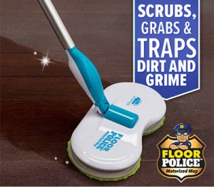 Floor Police Spin Mop As Seen On TV