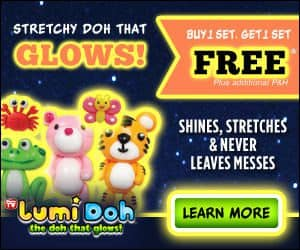 lumidoh glows in the dark