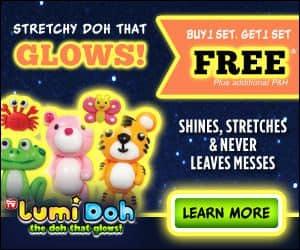 lumidoh glows in the dark