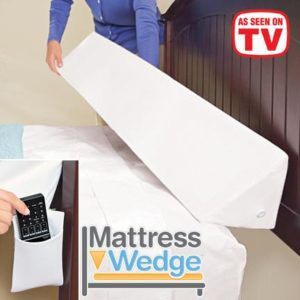 Mattress Wedge fills the gaps