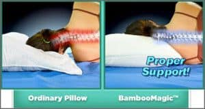 Odinary Pillow VS Bamboomagic