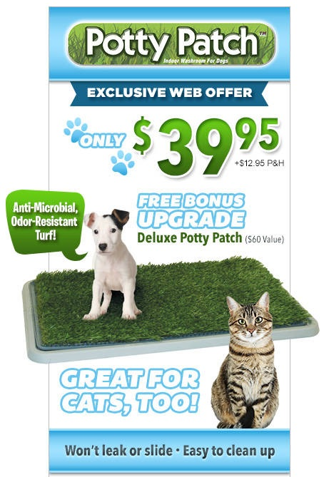As Seen On TV Potty Patch TV Offer