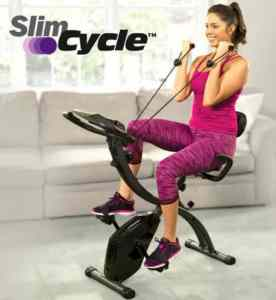slim cycle exercise bike