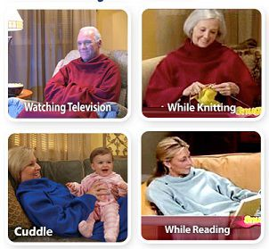 Snuggies As Seen On TV Blanket