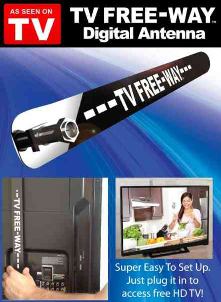 As Seen On TV - TV Free-Way