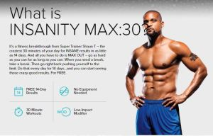 Insanity Max 30 Workout with Shaun T