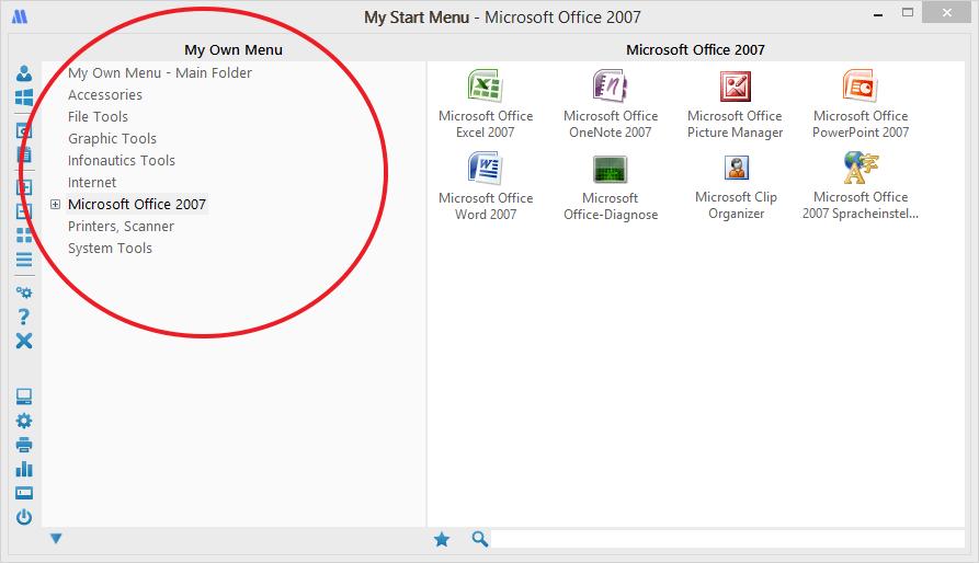 Windows Start Menu Replacement My Start Menu