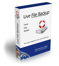Live File Backup - Backup Software für Windows