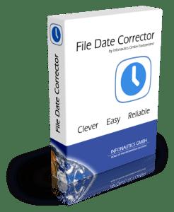 Mit File Date Corrector ursprüngliches Erstell- und Änderungsdatum wiederherstellen