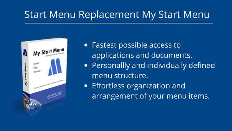 Start Menu Replacement My Start Menu