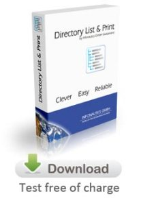 Download Directory List & Print now