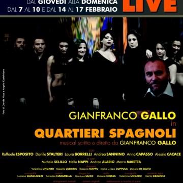 """L'amore per battere la violenza in Quartieri spagnoli, il musical di Gianfranco Gallo, prima produzione teatrale del """"nuovo"""" Trianon"""