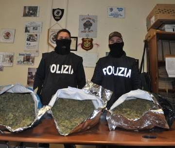 """Casoria, polizia blocca incensurato con 15 KG di """"amnesia"""""""