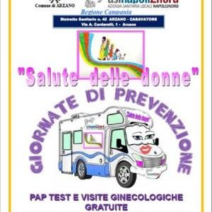 Sabato 8 giugno giornata di prevenzione, Pap Test e visite ginecologiche  gratuite