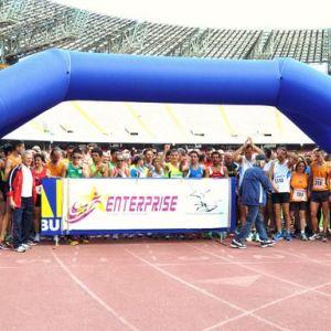 Una vera festa di sport allo Stadio San Paolo. Circa 700 podisti ed oltre 100 ragazzini protagonisti della giornata di atletica