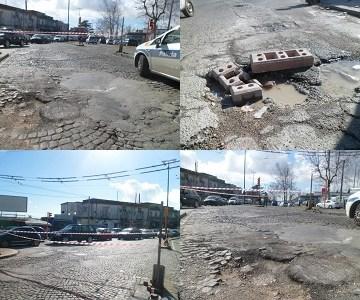 """Nuovo allarme buche a Napoli. Verdi e Simioli: """"Mappa devastante dei """"fossi"""" cittadini. Siamo in emergenza con seri rischi per gli automobilisti"""""""