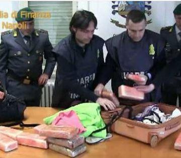 Federica Gagliardi fermata a Fiumicino con 24 Kg di cocaina