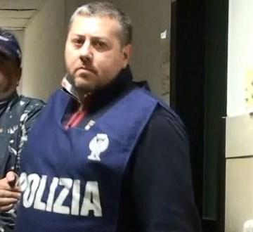 Angelo Cuccaro, guarda il video della cattura