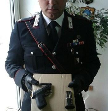 San Giuseppe Vesuviano, entra armato allo stadio, arrestato dai carabinieri