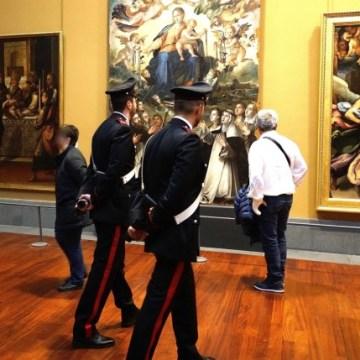 Napoli; servizi dei carabinieri a poli museali e d'interesse culturale di napoli e provincia