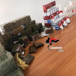 Scoperto 'deposito' di droga, sigarette di contrabbando e monete false. Arrestato incensurato