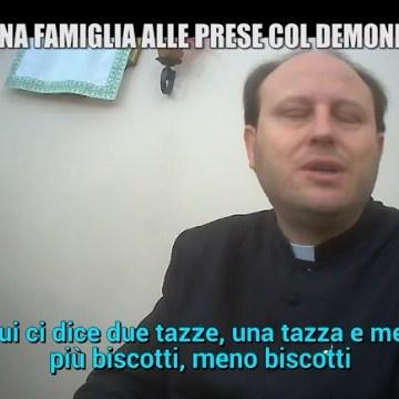 """Aversa, disturbo di conversione 'curato' con esorcismo. Le Iene smascherano Don Michele Barone. Bimba di 13 anni costretta a mangiare solo latte e biscotti perchè così dice """"San Michele"""". Vescovo Angelo Spinillo: stiamo vagliando la formula migliore per agire"""