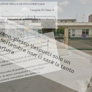 Grumo Nevano, plesso Vespucci: la verità di Infondonews nella delibera di giunta. L'assessore Giametta in contraddizione con se stessa, si dimetta