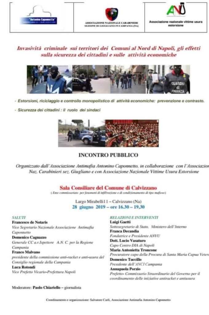 Convegno Associazione Antimafia Antonino Caponnetto