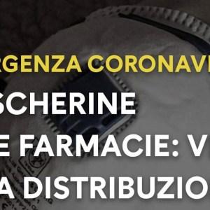Coronavirus, la Regione Campania comincia la distribuzione delle mascherine nelle farmacie