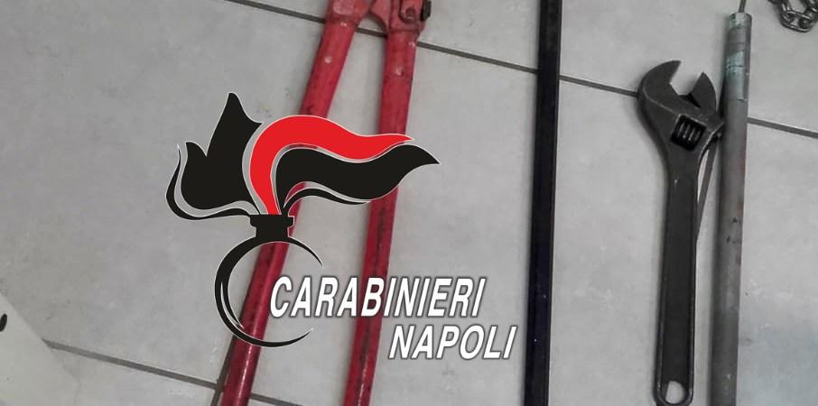 Tentano il furto in un negozio di Frattamaggiore ma vengono scoperti dai carabinieri. Arrestati
