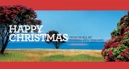Seasons Greetings From Tourism New Zealand