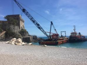 Erchie - Torre La Cerniola - lavori in corso 4