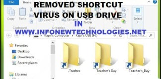 Remove Shortcut Virus on USB Drive