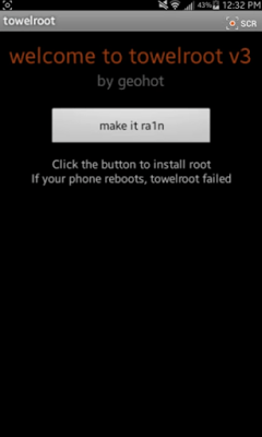 How to Root any Android by Towelroot