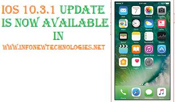 iOS 10.3.1 update