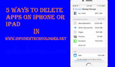 5 Ways to Delete Apps on iPhone or iPad
