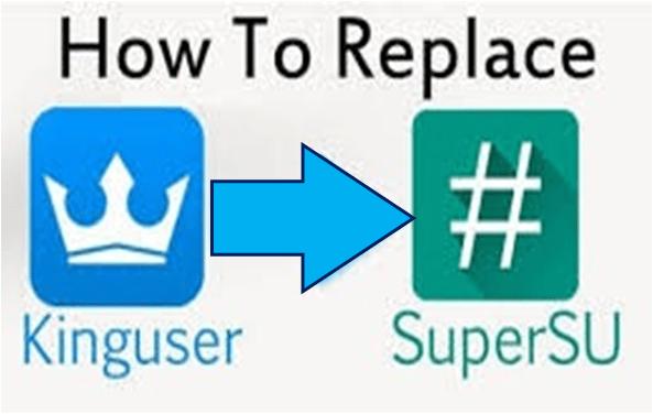 Replace KingUser KingRoot With SuperSU