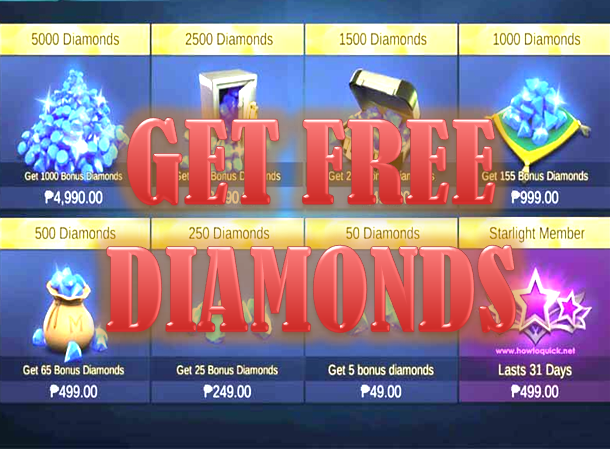 3 Ways to Get Free Diamonds in Mobile Legends - Bang Bang Guide