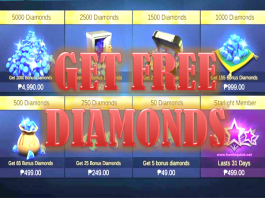 Get Free Diamonds in Mobile Legends