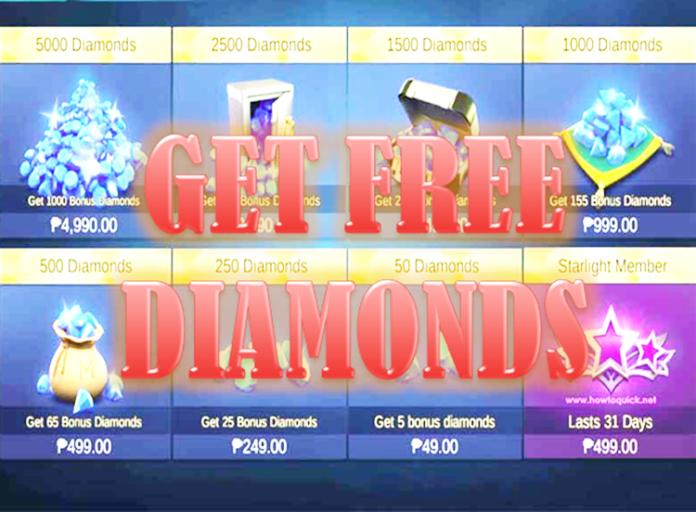 Get Free Diamonds in Mobile Legends