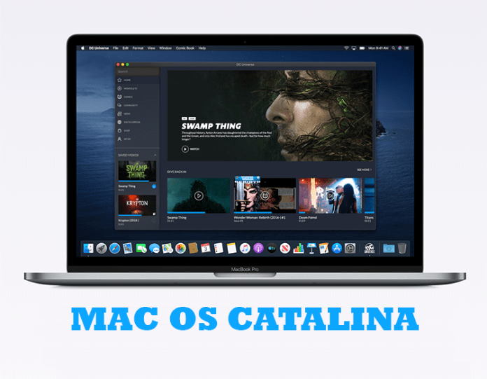New Features on Mac OS Catalina