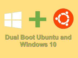 Dual Boot Ubuntu and Windows 10