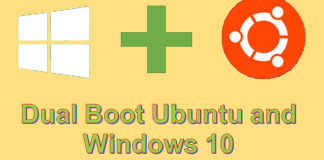 Dual Boot Ubuntu and Windows 10