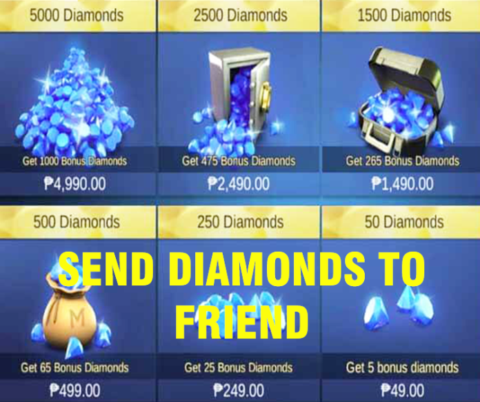 Send Diamonds on Mobile Legends
