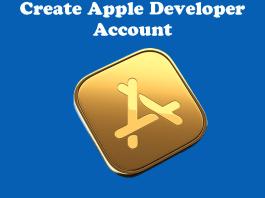 Create Apple Developer Account