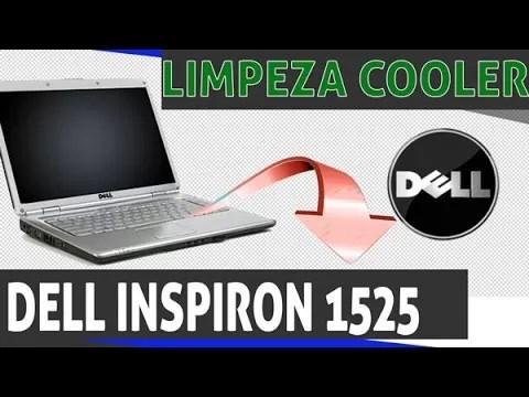 Aprenda a realizar a Limpeza interna e do cooler Dell Inspiron 1525 cooler pasta térmica