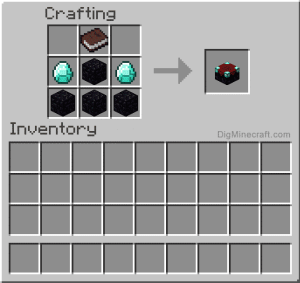 Add Items to make an Enchanting Table